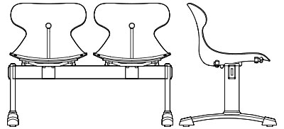 1654-(2-5) - Two-Five Position Beam